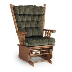 One of our best sellers is this comfy glider rocker from Best Home Furnishings. Great for reading and rocking babies!