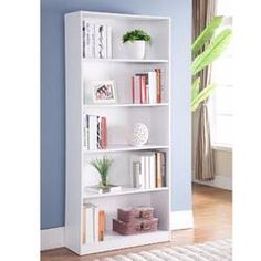 Ebern Designs Epple Creative Modern Simple Contemporary Design l X w X h Home Office Wooden Utility Storage Shelves Display Bookcase White Apartment Furniture, Living Room Furniture, Living Room Decor, Bedroom Decor, Accent Furniture, Furniture Stores, Modern Furniture, Dining Room, Diy Interior
