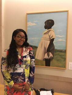 Meet Cliffanie Forrester, the 18-year-old artist with a painting hanging in the Met