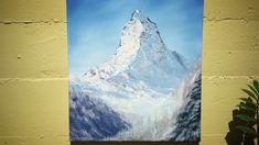 Matterhorn (Zermatt) Oil on canvas painting. Matterhorn is a symbol of Switzerland and also my inspirer. The mountain is a symbol of. Oil Paintings, Original Paintings, Symbols Of Strength, Zermatt, Oil On Canvas, Digital Art, Palette, Art Prints, Gallery