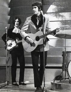 The Davies brothers, Ray and Dave of The Kinks... their music and style was so wonderfully English.