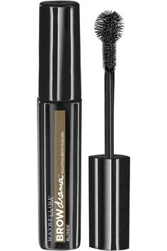 Maybelline New York Eye Studio Brow Drama Sculpting Brow Mascara is Maybelline's first brow mascara that defines arches with the first-ever Sculpting Ball Brush. A colored gel tints brows and provides an even, natural, comfortable hold in 2 easy steps. Best Eyebrow Makeup, Best Eyebrow Products, Kiss Makeup, Eye Makeup, Beauty Products, Makeup Products, Best Eyebrow Filler, Makeup Tips, Makeup Hacks