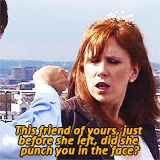 Donna always makes me laugh.