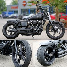 Thunderbike customized #Harley-Davidson Street Bob
