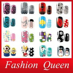 New Arrival Nail Art Sticker,6sheets/lot,Cartoon Flower Lace Mixed Designs Full Cover Nail Patch,Adhesive DIY Nail Wraps Decals-in Stickers & Decals from Beauty & Health on Aliexpress.com | Alibaba Group