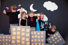 Fiesta de superhéroes. Ideas que nos gustan. Inspiration