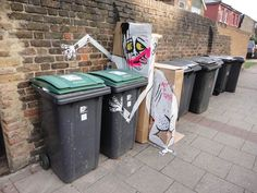 Art is Trash – Le Street Art par Francisco de Pájaro | Ufunk.net