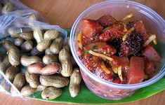 The Best Poke in Honolulu is at Ono Seafood; poke is not cheap, but it is made to order.