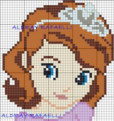 Princess Sofia the First perler bead pattern by Drayzinha