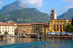 Riva del Garda, Italy. This is one of my fave places in the world