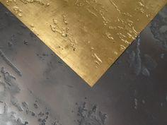 24K Balttgvergoldung on metal walls