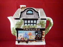 'Antique Shop'  Shaped Teapot, *SOLD*