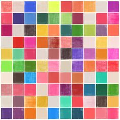Colorquilt 4 - Art Print by Garima Dhawan/ Society6