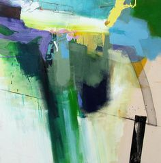 2 04-01-12 by Lee Kaloidis  Oil 4x4-foot canvas