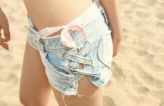 Cute idea for girls w/ big thighs like me