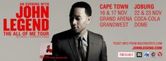 Big Concerts launched John Legend today!!