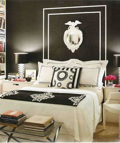 Black & White Headboard