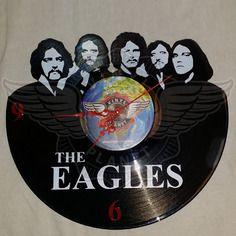 Horloge vinyle décoration  The Eagles 26.50€