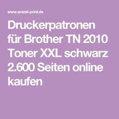 Druckerpatronen für Brother TN 2010 Toner XXL schwarz 2.600 Seiten online kaufen