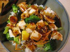 Copycat of Rumbi's Hawaiian Teriyaki Chicken Bowl | Like Mother, Like Daughter Food