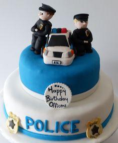 Gluten & dairy-free Police birthday cake @ Special bites
