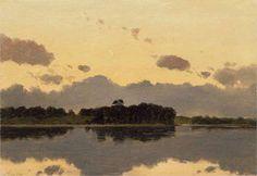 Crepuscule - Lockwood de Forest American, 1850–1932