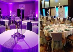 Transform any space with some impressive purple uplights! #diyuplighting