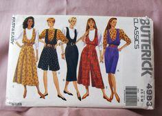 1990 Uncut Butterick  Pattern 4983 Misses by lovelylovepatterns, $4.50