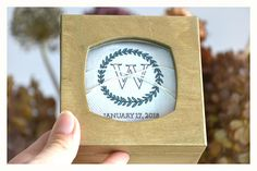 Personalized ring bearer box with a glass lid,calendar ring box, wedding box, wedding ring box,ring bearer pillow alternative ,ring holder Personalised Wooden Box, Personalized Rings, Wedding Ring Box, Wedding Boxes, Ring Bearer Box, Wooden Boxes, Alternative, Calendar, Unique Jewelry