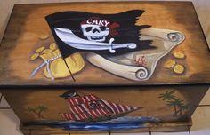 pirate treasure toy chest