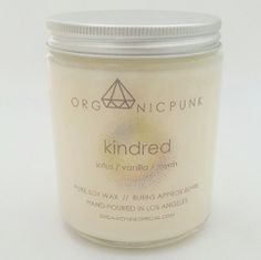 candle | kindred | custom made by Organic Punk