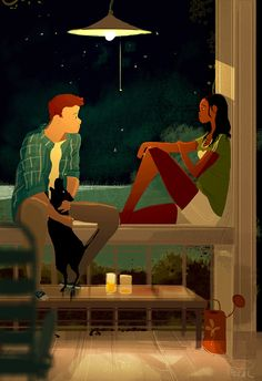 Early summer evenings by Pascal Campion.