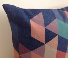 """£10.83- 20x20"""" Decorative Pillow Cover Blue Green orange Purle by xinghuajiang"""