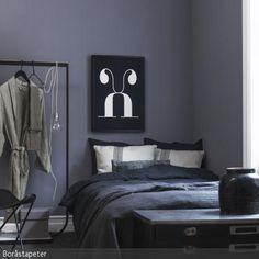 Neutrale Grautöne Treffen Auf Betthaupt | Tags Schlafzimmer Dunkle Farben