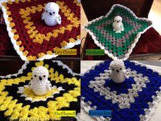 How to Crochet Cuffed Baby Booties - Crochet Ideas Baby Harry Potter, Harry Potter Crochet, Harry Potter Nursery, Crochet Baby Blanket Beginner, Crochet Lovey, Crochet Crafts, Crochet Toys, Knit Crochet, Crotchet