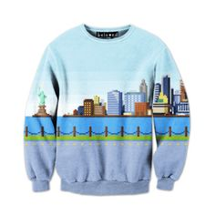 Big City Sweater Unisex, $59, now featured on Fab.