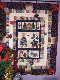 Christmas quilt (front)