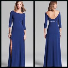 """Wildfox """"Eat Your Heart Out"""" Blue Maxi NWT No flaws, never been worn! The dress feels like such a wonderful material. Slits on one side. Size small, fits like a dream! It looks like it is sold out everywhere! Wildfox Dresses Maxi"""