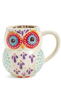 adorable owl mug http://rstyle.me/n/r27svr9te