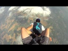 Gopro Slow Motion Skydiving [HD] Skydiving, Gopro