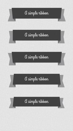 35+ Best Ribbon Banners - Free PSD and PNG Download