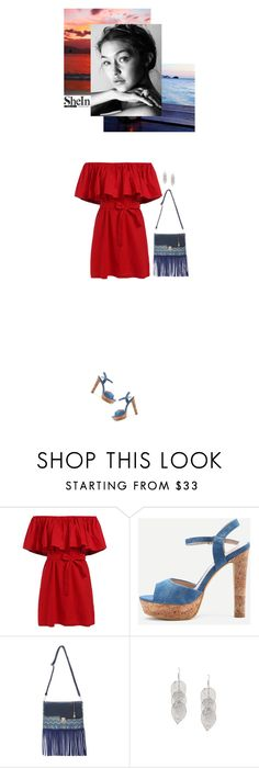 """""""Shein outfit"""" by blueeyed-dreamer ❤ liked on Polyvore featuring contest, denim, dress and shein"""