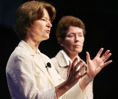 Sally Ride and life partner Tam O'Shaughnessy