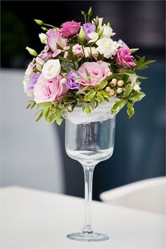 Stylish pink flowers to add to your wedding decor!