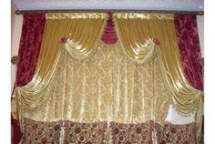 modern curtain #IkeaCurtains Ikea Curtains, Modern Curtains, Valance Curtains, Curtain Designs, Curtain Fabric, Decoration, Delaware, Manhattan, Home Decor