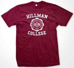 Hillman College Cosby Show A Different World T Shirt | eBay