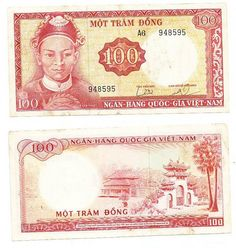 Asia Coins & Paper Money Vietnam 30 Dong 1985 Pick 95 Aunc Specimen