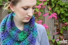 CEDdesigns: daydreaming at night crochet scarf: FREE pattern