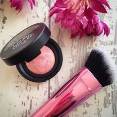 Who has tried & loved our Baked Blush-n-Brighten? #beauty2share : @speakingbeautyuk