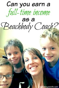 Can you earn a full time income as a beachbody coach?  Ask me HOW!!  www.beachbodycoach.com/reeder2014 or www.facebook.com/sarahitpasreeder